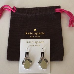 NWT kate spade Cinema Bloom drop earrings